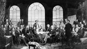 Leaders gathered in Quebec City 150 years ago to create the British North America Act.