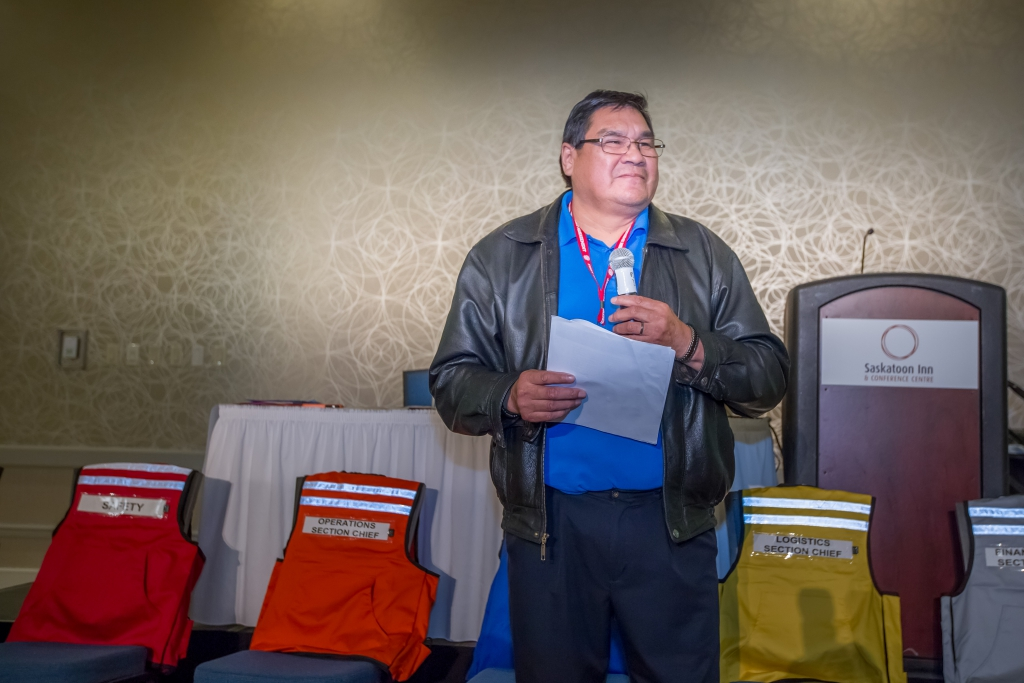 Roy Head Speaks at 2016 Saskatchewan First Nations Emergency Management Forum