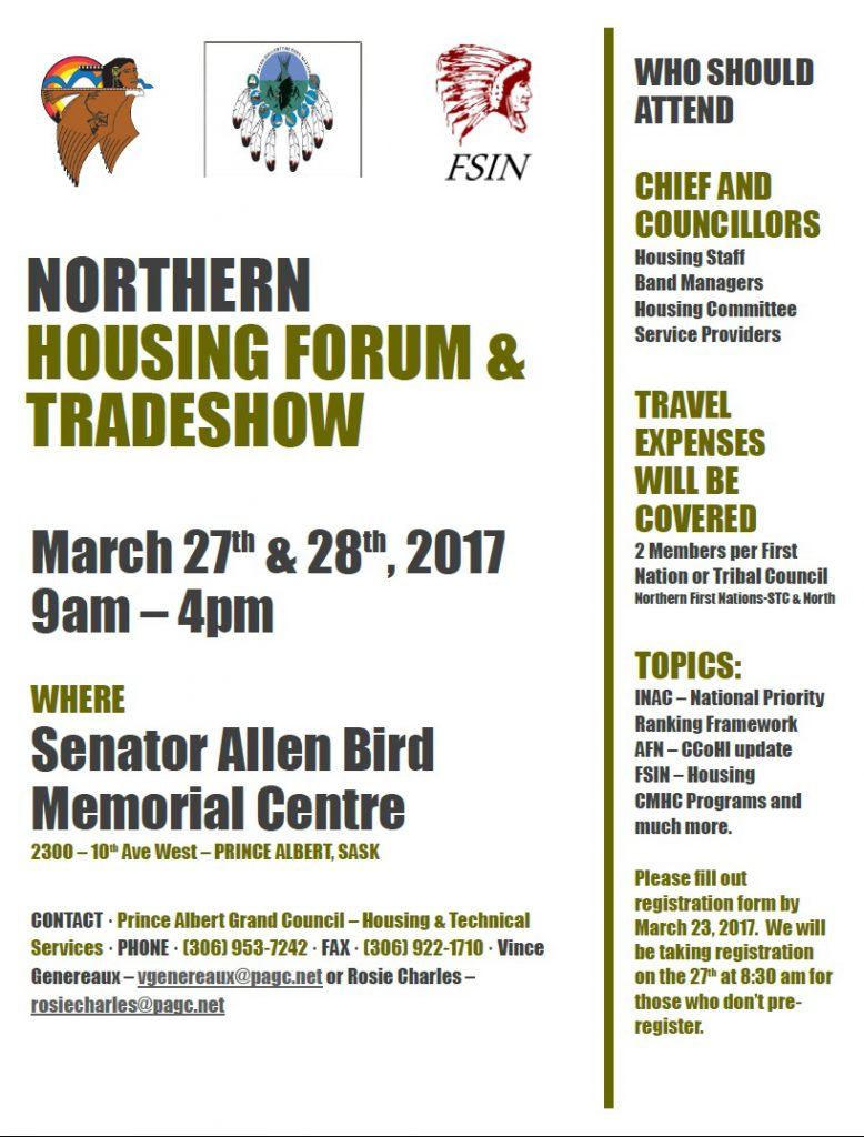 Northern housing forum poster and agenda
